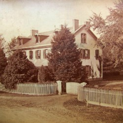 Photo courtesy the Lower Merion Historical Society (c. 1875)